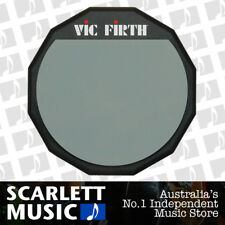 Vic Firth VF-PAD12 12-Inch Single Sided Practice Pad *BRAND NEW*