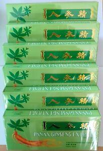 6 Boxes Panax Ginseng Extract Oral Liquid 4500mg Improves Stamina & Memory /UK