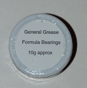 Formula Bearings General Blue Grease is for all fishing reels