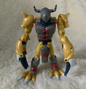 Digimon Digivolving Agumon to WarGreymon Action Figure Bandai