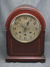 German MANTLE CLOCK - Westminster Chimes - Quarter Hour - WORKS
