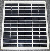 "3.5 Watt Solar Panel - 18 V DC - 190 mA - Terminal Block - 6.88"" x 7.63"""