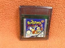 Flintstones Burgertime in Bedrock Nintendo Game Boy Color Super FREE SHIP Rare!