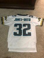 Maurice Jones-Drew Jacksonville Jaguars #32 White Jersey NFL Reebok Kids Small