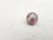 "Antique Handmade Onion Skin 1"" Glass Marble Germany"