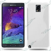Cover Case TPU Silicone Gel Pattern S-Line For Seri Samsung Galaxy Note