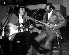 STEVIE RAY VAUGHAN & ALBERT KING 8X10 Celebrity Photo Picture Playing Live