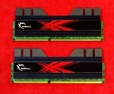 G.Skill Trident 4GB (2x2GB) DDR3-2000 RAM 9-9-9-27 F3-1600CL9D-4GBTD Elpida BBSE