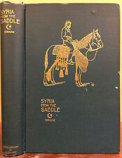 SYRIA FROM THE SADDLE - Albert Payson Terhune - 1896 - 1st ed, Author's 1st Book