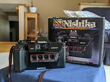 Nishika N8000 35mm Film 3D Camera with box, great condition