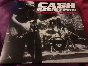 CASH REGISTERS Context Demos CD 2014 Punk POST FREE