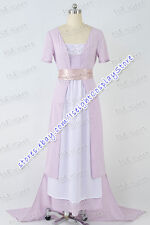 Titanic Rose DeWitt Bukater Cosplay Costume Movie Swim Gown Tail Dress Tailored