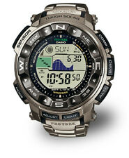 BNIB! The Ultimate Casio Pro Trek Men's Wristwatch in Titanium PRW-2500T-7ER