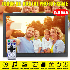 15'' 1080P HD LCD Digital Photo Frame Picture MP4 Movie Player Remote Control US