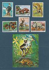 Comores république  animaux en voix de disparition 1977  poste et PA et BF **