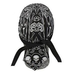 Twisted Metal Bandanna Biker Do rag Head wrap Skull cap Doo rag Capsmith Du rag