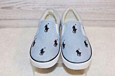 Ralph Lauren Boys Casual Shoes Blue & White Size 1