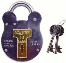 Squire 440 51mm steel case old english padlock HSQ440 shed gate farm
