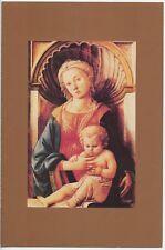1984 FDI, CHRISTMAS MADONNA, CEREMONY PROGRAM