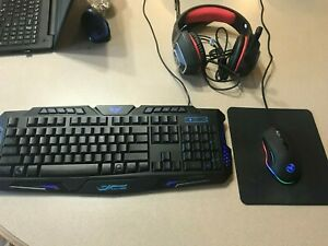 PC Gaming Combo W/ Keyboard, Mouse & Headset.