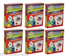 Dr Magic Snatch A Dye 120 Sheets (6 x 20 Pack) Colour Catcher