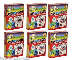Dr Magic Snatch A Dye 120 Sheets (6 x 20 Pack) Colour Catcher