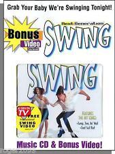 Next Generation Swing - New 1998 Swing Music CD + Bonus Learn to Dance VHS Video