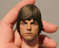 Custom Luke Skywalker Mark Hamill  jedi Episode IV A New Hope Star Wars 1/6 head