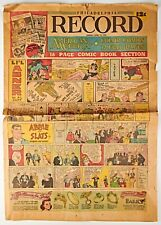 *April 15, 1945 Philadelphia Record Sunday Comics Newspaper Li'l Abner