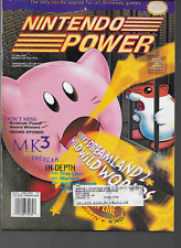 Nintendo Power #72 Kirby 2 Mortal Kombat III Justice League Fatal Fury 1995