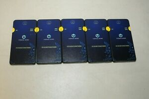 Lot of 5 Power Qube LDB-6 5000mAh  Power Bank -Untested