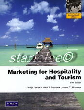NEW 3 Days 2 US / CA Marketing for Hospitality and Tourism 5E Kotler 5th Edition