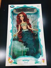 "Disney Store The Little Mermaid Princess Ariel Limited Edition 17"" designer Doll"