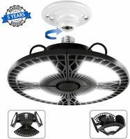 LED Garage Lights - Work Ceiling Light 6000 Lumen 60W Indoor with 4 Adjustable