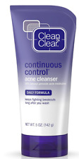 Clean and Clear Continuous Acne Cleanser. 10% Benzoyl Peroxide. Max Strength