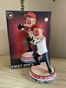 "Dr. Anthony Fauci WASHINGTON NATIONALS ""First Pitch"" EXCLUSIVE Bobblehead NIB!"