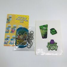 Spongebob Movie Sponge Out of Water Collectible Dog Tag and Sticker Sheet