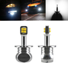 2x New H3 daytime foglight advanced bright Cree LED lamp low power consumption