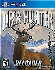 PS4 video game: Deer Hunter: Reloaded - NO SCRATCHES