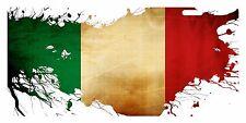 ITALY Custom License Plate ITALIAN ITALIA Emblem PAINT Version II