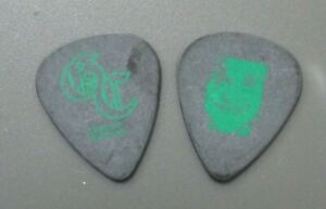 Good Charlotte guitar pick green on black FACE & Signature AUTHENTIC  !