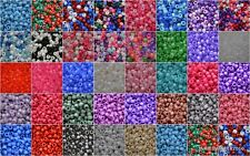 *10 FOR 5* Plastic Pony Bead Pearl Opaque Glitter Braid Dummy Clip Bracelet