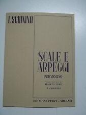 SCHININA SCALE E ARPEGGI PER VIOLINO VOL 1