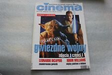 Cinema 4/1999 Star Wars Episode 1, Leonardo Dicaprio, Robin - POLISH MAGAZINE