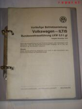 ILTIS  BW Betriebsanleitung Handbuch Anleitung Reparaturanleitung Reparaturbuch