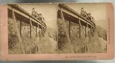 Photo-stéréo 1891,Sky Railroading White Mts. N.H.