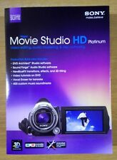 Sony Vegas Movie Studio HD Platinum Software Production Suite 11 PC Editing NEW