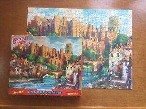 DURHAM CASTLE Philmar Famous Castles Vintage Jigsaw. 400 pieces. Complete