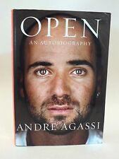 "Andre Agassi SIGNED Book ""Open - An Autobiography"" - 1st Edition - (HC/DJ)"