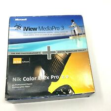 Microsoft iView MediaPro 3 & Nik Color Efex Pro 2 Select Edition Photography Wor